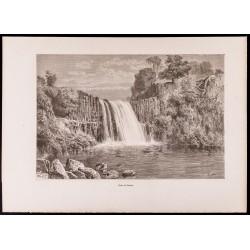1880 - Chute du Caïmito -...