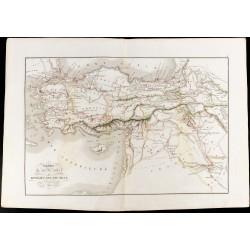 1847 - Carte de l'Asie mineure