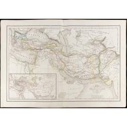 1847 - Carte des conquêtes...