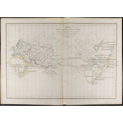 1847 - Carte du monde -...