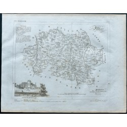 1830 - Carte ancienne de...
