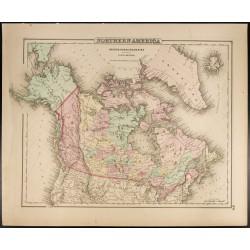 1857 - Carte du nord de...