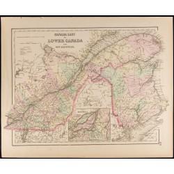 1857 - Carte du Canada &...