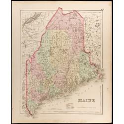 1857 - Carte de l'État...