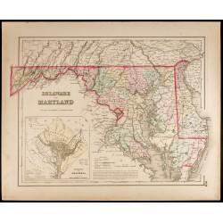 1857 - État du Delaware et...