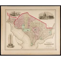 1857 - Plan de Georgetown...