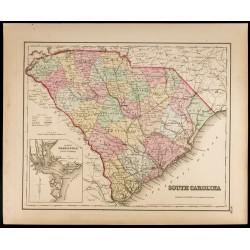 1857 - État de Caroline du...
