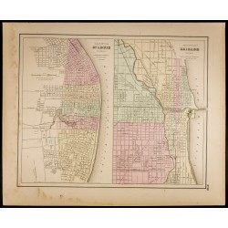 1857 - St Louis & Chicago -...