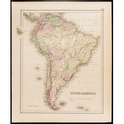 1857 - Carte ancienne...