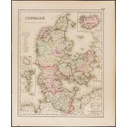 1857 - Carte ancienne du...