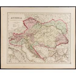 1857 - Carte ancienne de...