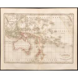1847 - Carte de l'Océanie