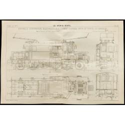 1909 - Plan d'une...