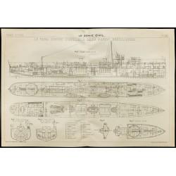 1909 - Plan du Para contre...