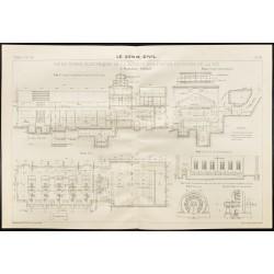 1909 - Plan ancien d'usine...