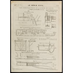 1909 - Plan ancien d'une...