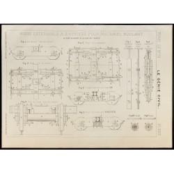 1909 - Plan ancien d'un...