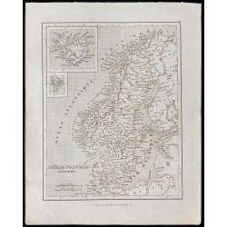 1836 - Carte ancienne de la...