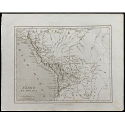 1836 - Carte ancienne du...