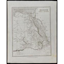 1836 - Carte ancienne de...