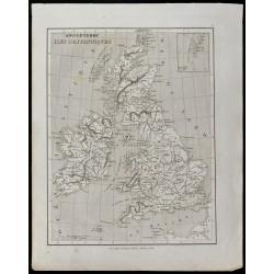 1836 - Carte ancienne des...