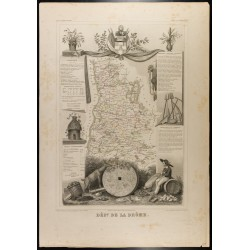 1854 - Département de la Drôme