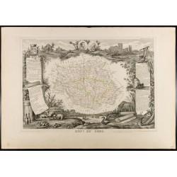 1854 - Département du Gers