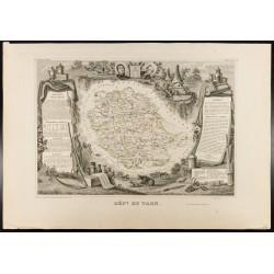 1854 - Département du Tarn