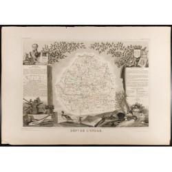 1854 - Département de l'Indre