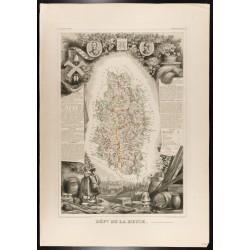 1854 - Département de la Meuse