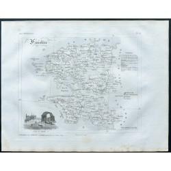 1830 - Carte ancienne du...