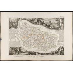 1854 - Département de la Somme