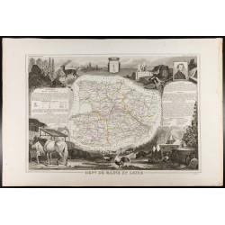 1854 - Département du Maine...