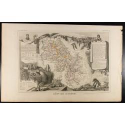 1854 - Département de l'Isère