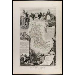 1854 - Département de la Loire