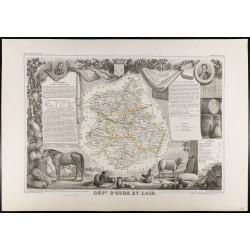1854 - Département d'Eure...