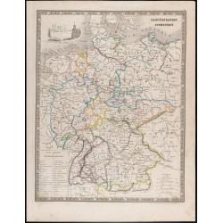 1835 - Carte de la...