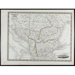 1835 - Carte de la Turquie...