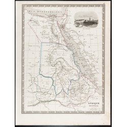 1835 - Carte ancienne de...
