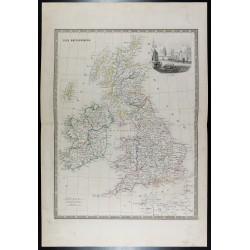 1835 - Carte ancienne des...