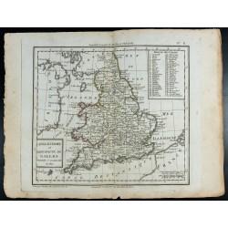 1810 - Carte de l'Angleterre