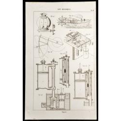 1852 - Bateau - Machine à...