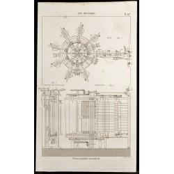 1852 - Presse circulaire ou...