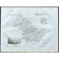 1830 - Carte ancienne...