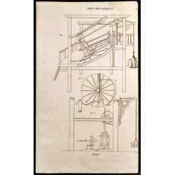 1852 - Grues - Arts mécaniques