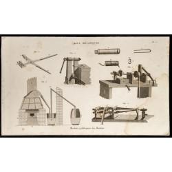 1852 - Machine à fabriquer...