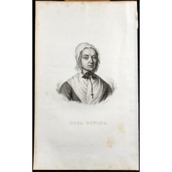 1835 - Portrait de Rosa Govona