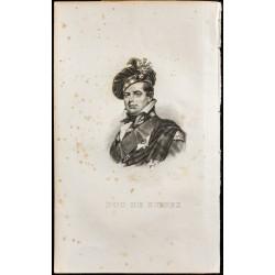 1835 - Portrait du Duc de...