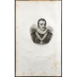 1835 - Portrait de Henri IV
