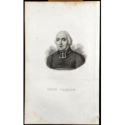 1834 - Portrait de l'Abbé...